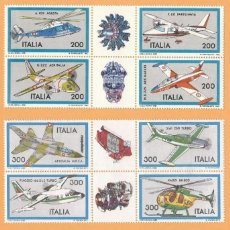 Sellos: ITALIA 1981/1982/1983 AVIONES AERONAUTICA ITALIANA. Lote 116228867