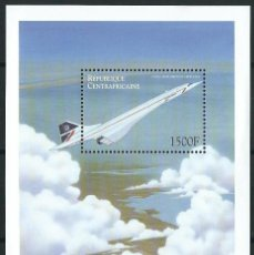 Sellos: REPUBLIQUE CENTRAFRICAINE CONCORDE BRITISH AIRWAYS. Lote 116350291