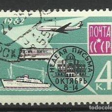 Sellos: RUSIA- AVIONES- USADOS. Lote 118809795