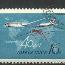 Sellos: RUSIA- AVIONES- USADOS. Lote 118809827