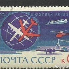 Sellos: RUSIA- AVIONES- USADOS. Lote 118809867