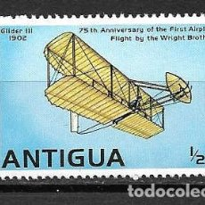 Sellos: AVIONES DE ANTIGUA. SELLO AÑO 1978. Lote 271412598