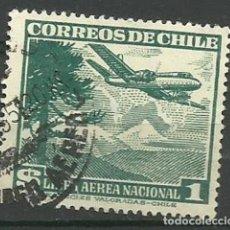 Sellos: CHILE-- AVIONES USADOS. Lote 119293759
