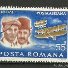 Sellos: RUMANIA-- AVIONES- USADOS. Lote 119654403