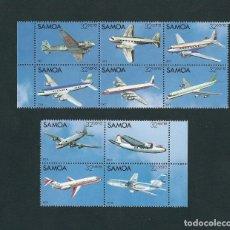 Sellos: SELLOS SAMOA 1983 AVIONES. Lote 132392414