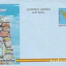 Sellos: AEROGRAMA EDIFIL Nº 218, 2º CENTENARIO VUELO DE DIEGO MARTIN, MONUMENTO EN ARANDA DE DUERO (BURGOS). Lote 133148790