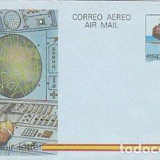 Sellos: AEROGRAMA EDIFIL 208, AEROPUERTO DE GIRONA. Lote 133220070