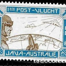 Sellos: PRIMER VUELO JAVA / AUSTRALIA-INDIA HOLANDESA. Lote 140618946