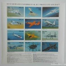 Sellos: SELLOS PALAU 1995 Y&T AEREOS 40/51 AVIONES EXPERIMENTALES. Lote 141672930