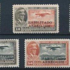 Sellos: SELLOS MEJICO 1932 HABILITADO AEREO. Lote 142201298