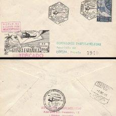 Sellos: GUINEA 305, PRIMER CORREO AEREO POR HELICOPTERO, VUELO DE ENSAYO EL 22-11-1956. Lote 143172802