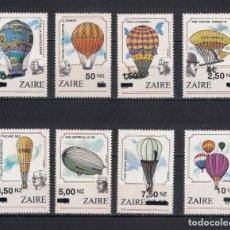 Sellos: ZAIRE 1994 ** VUELOS TRIPULADOS SC NOS. 1413-1420 (8) 33 $ - 2/23. Lote 144728910