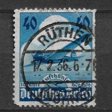 Sellos: ALEMANIA REICH 1936 Nº 603 VANDERSANDEN. 17.2.36 RUTHEN - 10/9. Lote 147392662