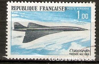 FRANCIA. 1969. AÉREO YT 43. CONCORDE. AVIONES (Sellos - Temáticas - Aviones)