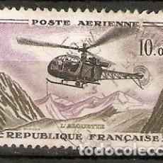 Sellos: FRANCIA. 1960. AÉREO YT 41. AVIONES. Lote 148686374