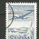 Sellos: FINLANDIA - AVIÓN 1963 - 3,00 MARKKAA - USADO - MIRE MIS OTROS LOTES Y AHORRE GASTOS. Lote 160515822