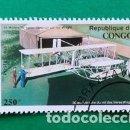 Sellos: SELLO CONGO (2E MODELE DE BIPLAN CONSTRUIT PAR LES WRIGHT) . Lote 161072902