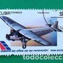 Sellos: SELLO CUBA (TRIMOTOR FORD) . Lote 161076802