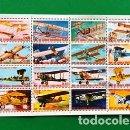 Sellos: SELLO GUINEA ECUATORIAL (AVIONES ANTIGUOS) . Lote 161077266