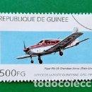 Sellos: SELLO GUINEE (PIPER PA-28 CHEROKEE ARROW ETATS UNIS) . Lote 161077490