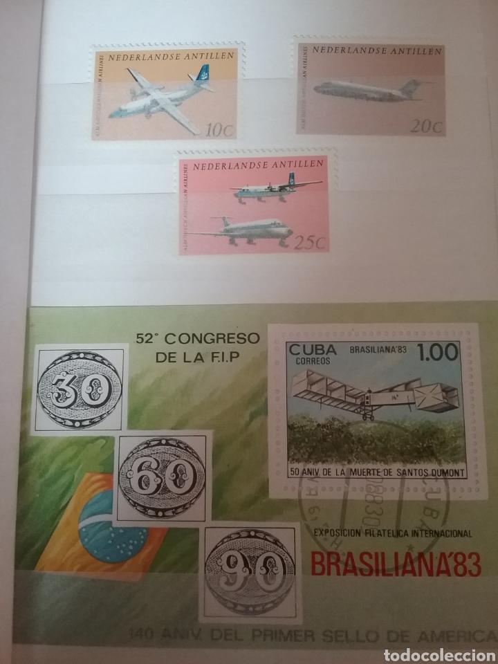 MINI-CLASIFICADOR AVIONES/MISMO PRECIO; CON O SIN CLASIFICADOR/AVIACION/VUELOS/VER FOTOS/1 (Sellos - Temáticas - Aviones)