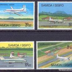 Sellos: SELLOS SAMOA I SISIFO 1983 INTERNATIONAL AIRPORT AVIONES. Lote 161872862