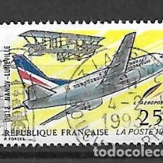 Sellos: ENLACE POSTAL AÉREO. FRANCIA. SELLO EMIT. AÑO 1992. Lote 164884126