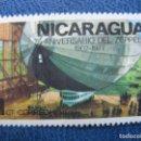 Sellos: NICARAGUA, 1977 ZEPPELIN, YVERT 1064. Lote 167605160
