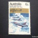 Sellos: AUSTRALIA Nº YVERT 436*** AÑO 1971. 50 ANIVERSARIO ROYAL AUSTRALIAN AIR FORCE. Lote 168395800