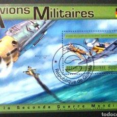 Sellos: GUINEA AVIACION ALEMANA II GUERRA MUNDIAL. Lote 176377577