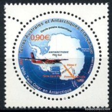 Sellos: TAAF TERRITORIO ANTARTICO FRANCES 2004 Y&T 389** AVION. Lote 176408007
