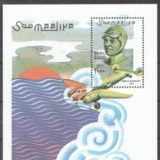 Sellos: SELLOS SOMALIA 2001 AMELIA EARHART. Lote 176503080