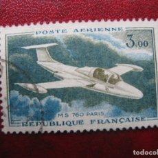 Sellos: -FRANCIA 1960, MORANE-SAULNIER 760, YVERT 39 AEREO. Lote 182715882