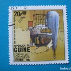 Sellos: GUINEA BISSAU 1983, SELLO USADO. Lote 182832818