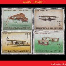 Sellos: LOTE SELLOS NUEVOS - SAN MARINO - AVIONES - AHORRA GASTOS COMPRA MAS SELLOS. Lote 191654563