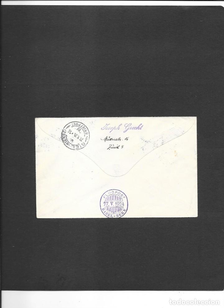 Sellos: SUIZA VUELO EN 1924 - Foto 2 - 191850892