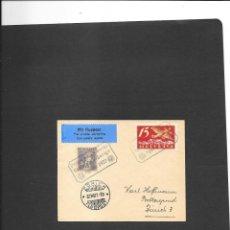 Sellos: SUIZA VUELO EN 1927. Lote 191880237