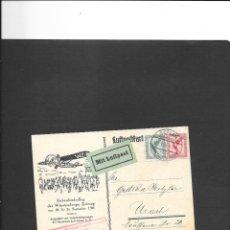 Sellos: ALEMANIA IMPERIO VUELO EN 1926. Lote 191882226