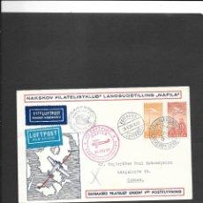 Sellos: DINAMARCA VUELO EN 1935. Lote 191883650