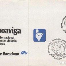 Sellos: AÑO 1984, 2º CENTENARIO DE LA ELEVACION DEL PRIMER GLOBO AEROSTATICO EN CATALUÑA. Lote 197109083