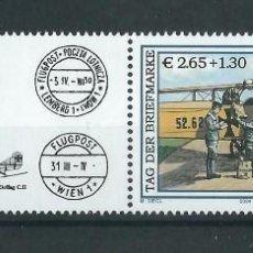 Sellos: SELLO AUSTRIA 2004 Y&T 2316** AVIÓN OEFFAG C II. Lote 198603017