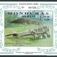 Sellos: SELLO HONDURAS 2003 75 ANIVERSARIO DEL PRIMER CORREO AEREO DE HONDURAS. Lote 198627295