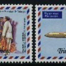 Sellos: TRINIDAD & TOBAGO 1977 Y&T 355/58 50 ANIVERSARIO DEL CORREO AEREO EN TRINIDAD AVIONES. Lote 199388218