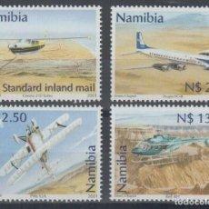 Sellos: SELLOS NAMIBIA 2001 AVIONES HELICOPTERO. Lote 199500851