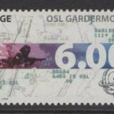 Sellos: SELLOS NORUEGA 1998 AEROPUERTO DE OSLO AVIONES. Lote 199906468
