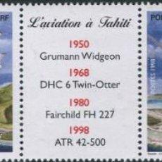 Sellos: SELLOS POLINESIA FRANCESA 1998 AVIACION EN TAHITI. Lote 201096225
