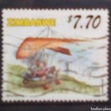 Francobolli: ZIMBABWE PIONEROS DE LA AVIACIÓN SELLO USADO. Lote 202418697