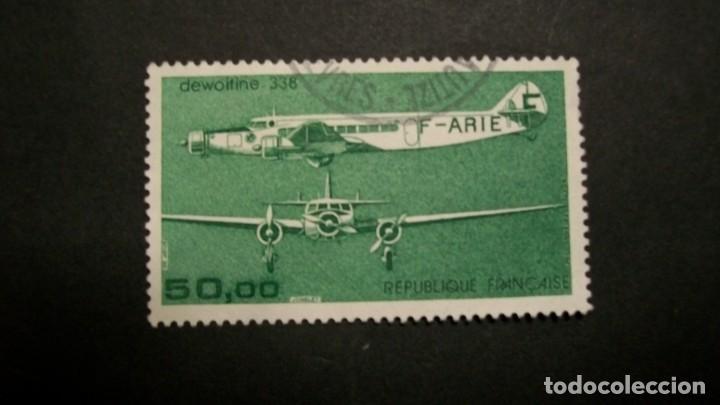 /14.05/-FRANCIA-1987-CORREO AEREO 50 F. Y&T 60 SERIE COMPLETA EN USADO/º/ (Sellos - Temáticas - Aviones)