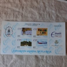 Sellos: 1996 PRUEBA LUJO 12 EXPOSICIÓN FILATÉLICA AVIACIÓN ESPACIOS EDIFIL NÚMERO 59 PVP 15. Lote 205158438