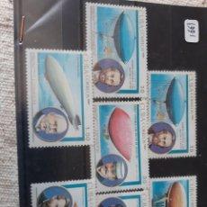 Sellos: CUBA AVIACION ZEPELÍN SERIE COMPLETA NUEVA AÑO 1991. Lote 205396435